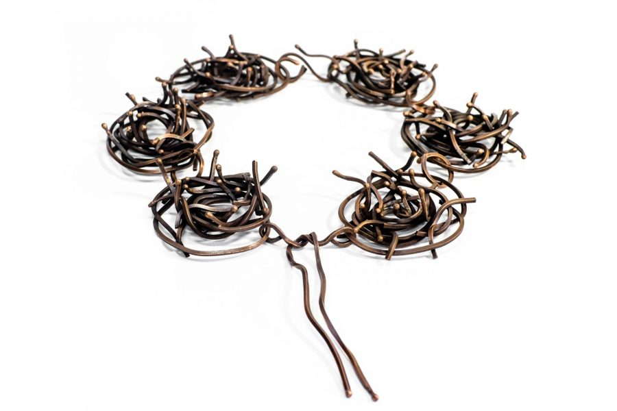 Uniform V, Necklace, 2017, Copper