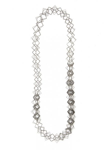 Surfaceless, Necklace, 2018, Stainless steel