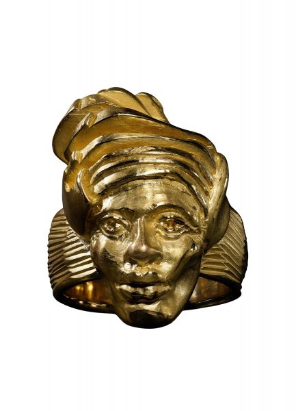 Queen Nanny, 2019, ring; 18ct yellow gold