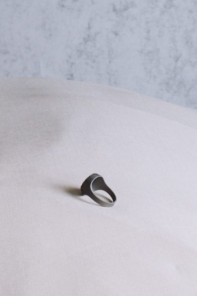 Sign.et, Ring, 2019, Stainless steel
